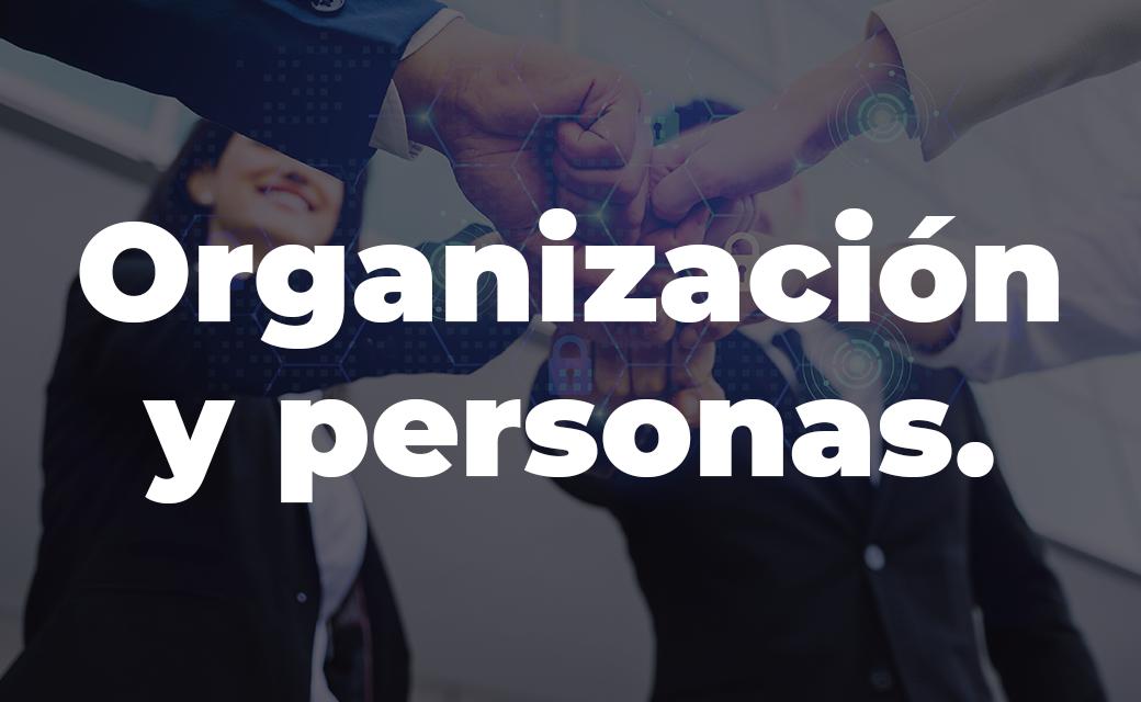 Organización y personas