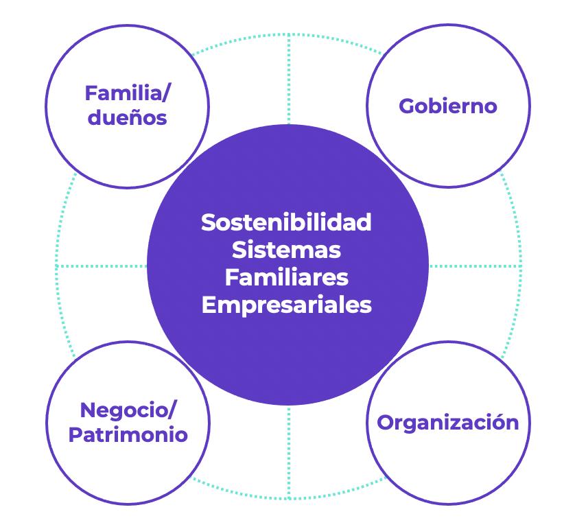 Modelo de sostenibilidad de sistemas empresariales familiares