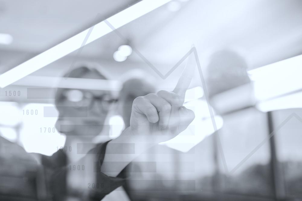 close-up-of-businesswoman-touching-chart-on-virtual-screen